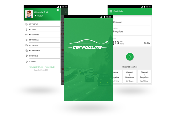 Carpooling Mobile App Android And Ios